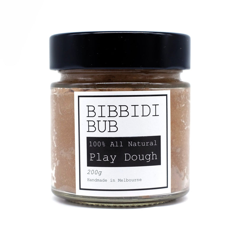 Bibbidi Bub: Natural Playdough Chocolate