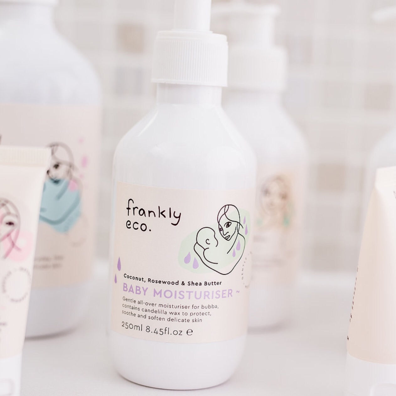 Frankly Eco. Baby Moisturiser 250ml