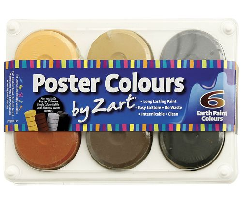 Poster Colour Paint Earth