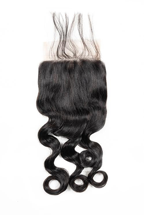 Virgin Brazilian Body Wave Lace Closure - True Glory Hair