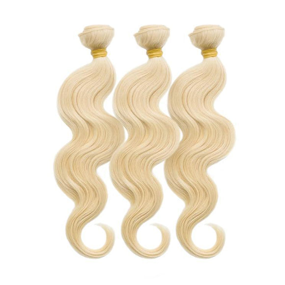 Dyed Virgin Brazilian Body Wave Bundle Deal - Includes 16