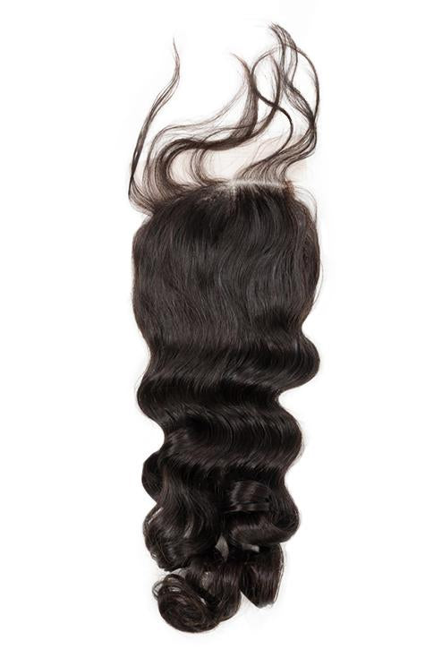 Virgin Indian Loose Wave Closure - True Glory Hair