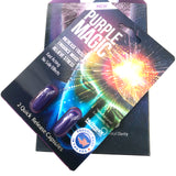 NEW Purple Magic Focus Mood Enhancement Full Box 12 Card 24 Capsule