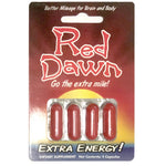 2x Red Dawn Go The Extra Mile Extra Energy Capsule (8 Capsules) - XDeor