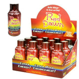 Red Dawn Shots 2oz Extra Mood Energy Enhancement Mixed Berry - 6 Bottles - XDeor