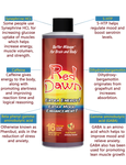 8oz Red Dawn Extra Mood Energy Enhancement Party Drink Liquid RXD - 5 Bottles - XDeor