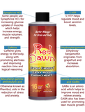 4x 8oz Red Dawn Extra Mood Energy Enhancement Party Drink Liquid RXD