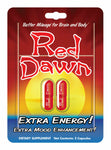Full Box 12x Red Dawn Go The Extra Mile Extra Energy Capsule (24 Capsules)