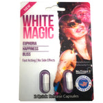 6x NEW White Magic Relax Chill & Happiness Enhancement Full Box 6 Card 12 Capsule