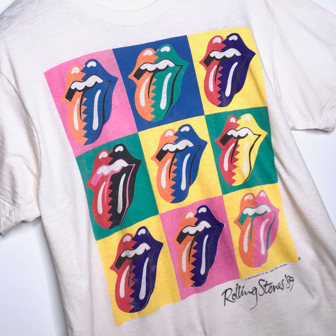 Rolling Stones 'Steel Wheels Tour' - 1989
