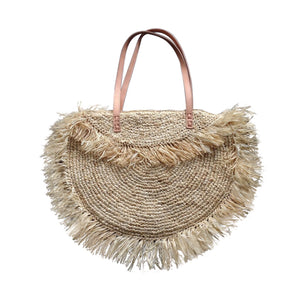 Seagrass Bag with fringe