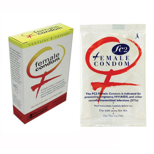 FC Female Condoms 3 Pack