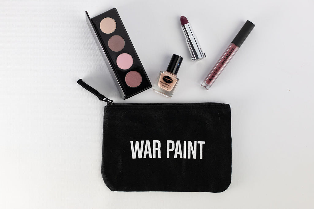 WAR PAINT Cotton Pouch