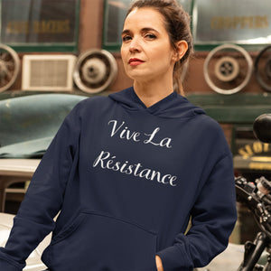Vive La Résistance Unisex Hoodie (3 colors available)
