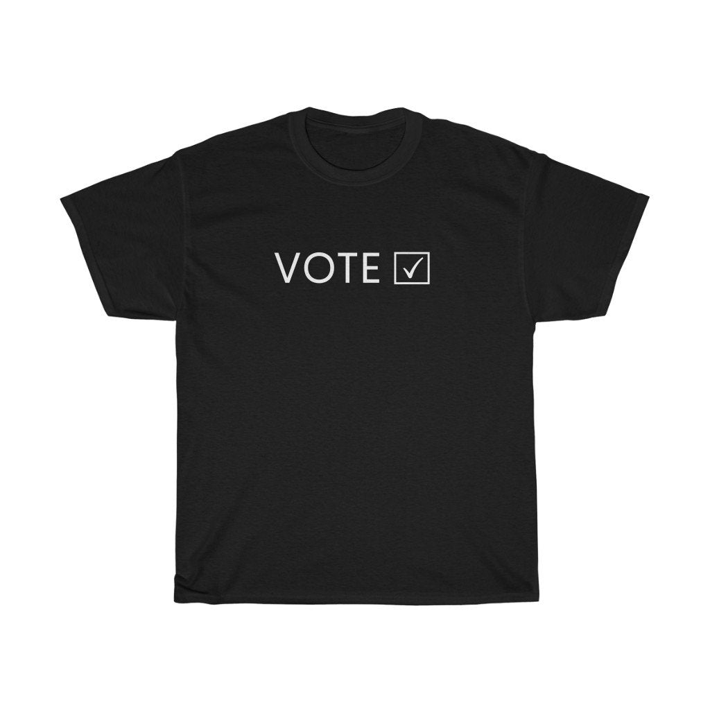 VOTE Heavy Cotton Tee (3 colors available)