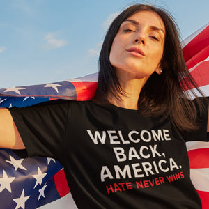 WELCOME BACK AMERICA Unisex T