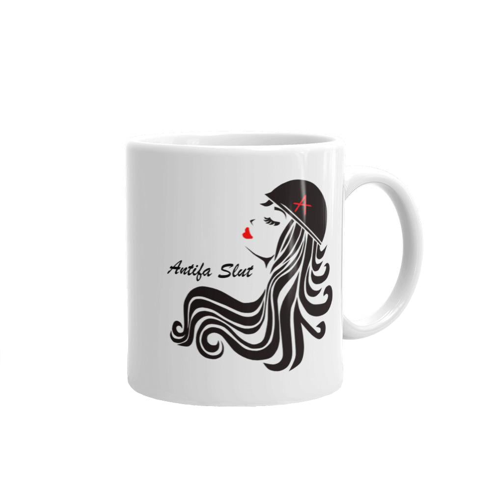 antifa slut mug front view