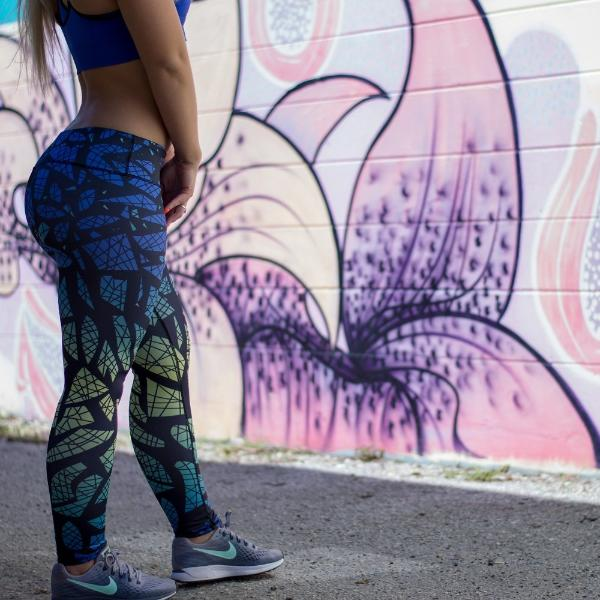 Geo Jump - Leggings