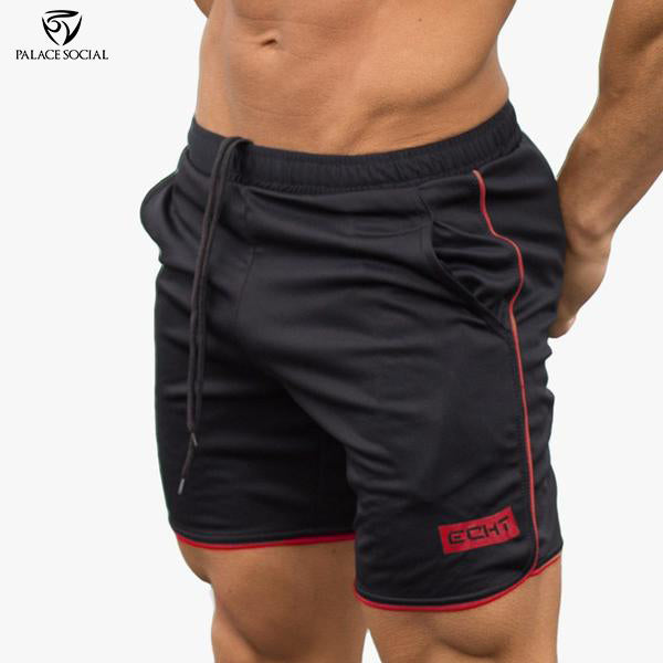 ECHT Black Knit Gym Shorts - 4 Colors