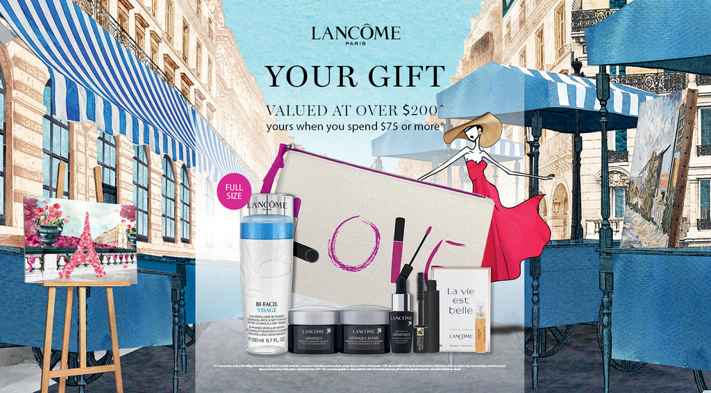 L O V E the latest Lancôme gift!