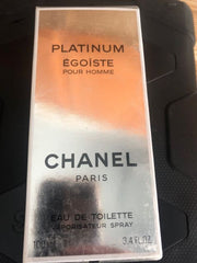 Platinum Egoiste Pour Homme by CHANEL 3.4 Oz 100ml Eau De Toilette Spray Men