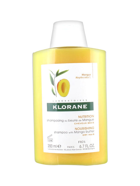 Klorane Nourishing Treatment Shampoo With Mango Butter 200ml