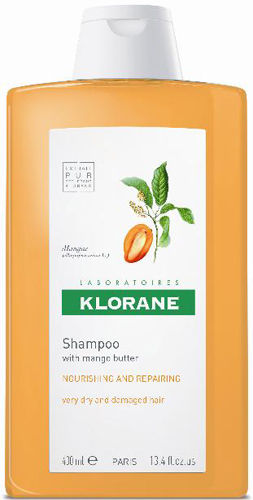 Klorane Shampoo with Mango Butter - Dry Hair , 13.5 fl. oz