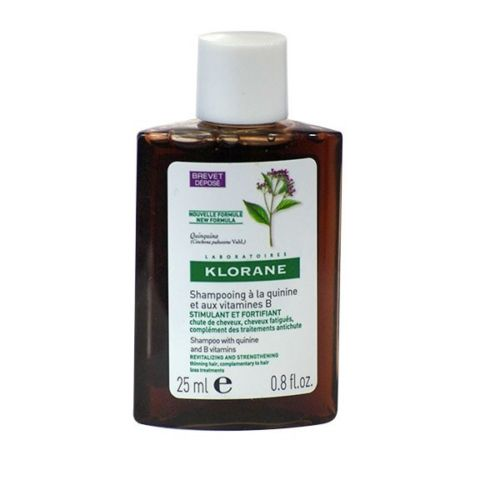 Klorane Shampoo with Quinine Vitamins B6, 0.8oz