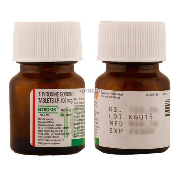 Eltroxin 100 mcg Tablet