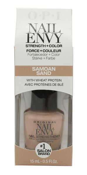 OPI Nail Envy Strength & Colour Nail Strengthener – Samoan Sand