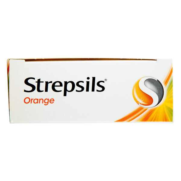 Strepsils Throat Lozenges Soothing Orange 36 Pack
