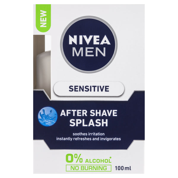 Nivea Men Sensitive After Shave Splash 100mL