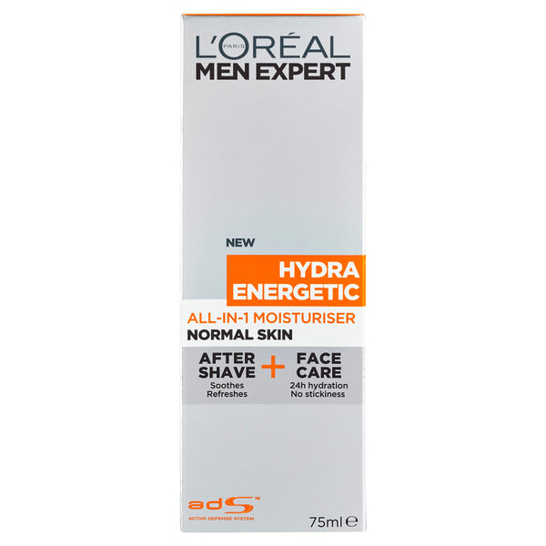 L'Oréal Men Expert Hydra Energetic All-in-One Moisturiser for Normal Skin