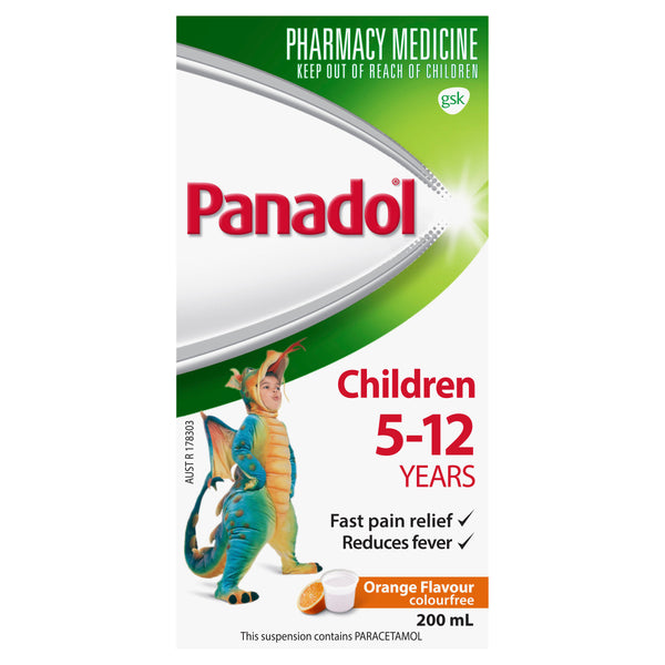 Panadol Child 5-12 Years Orange - 200ml