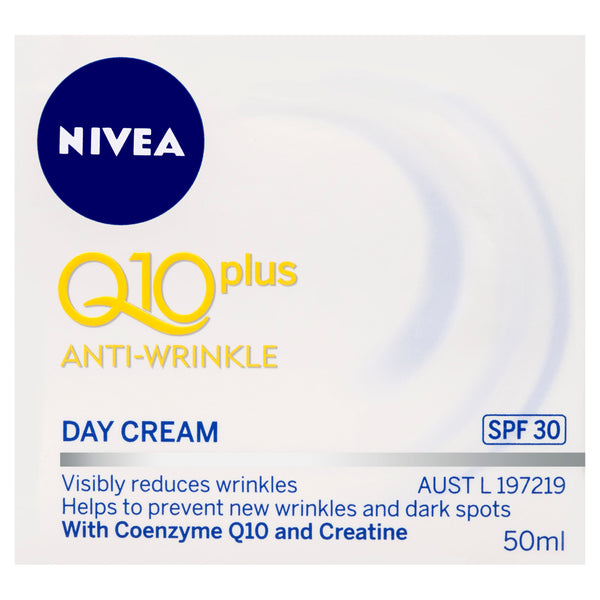 Nivea Q10 plus Anti-Wrinkle Day Cream SPF 30 50mL