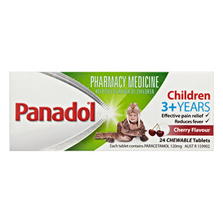 Panadol Child Chewable - 24 Tablets