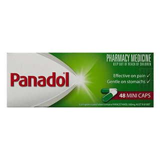 Panadol Mini Caps - 48 Pack