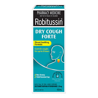 Robitussin Dry Cough Forte - 100mL