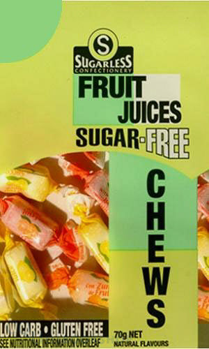 Citrus Natural Fruit Juice Chews (70g)