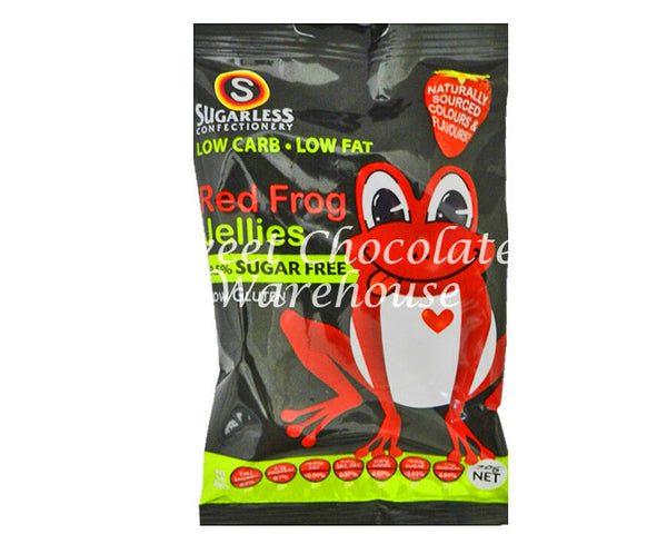 Sugarless Sugar Free Red Frog Jellies 70g