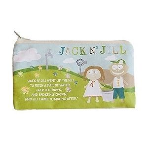 Jack N Jill Sleepover Bag Natural Cotton 1bag