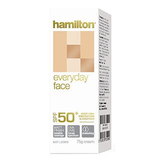 Hamilton Every Day Face Cream 50+ - 75g