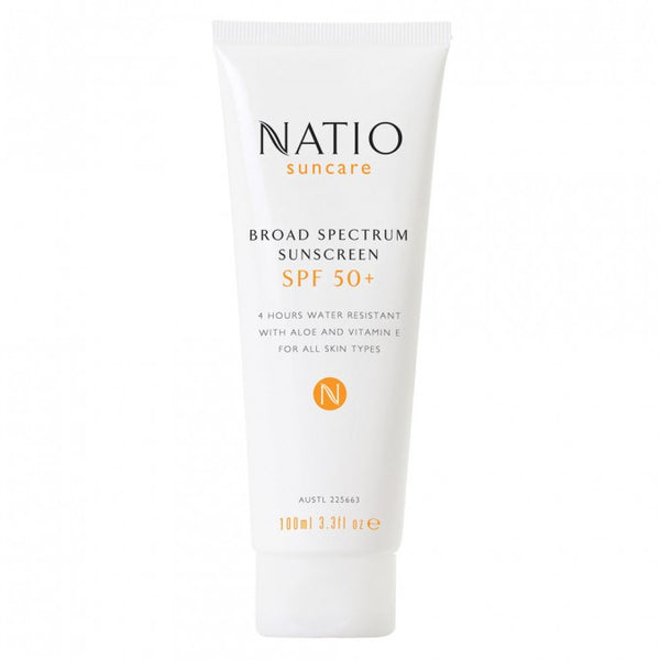 NATIO Moisturising Sun Lotion SPF 50+ 100 mL