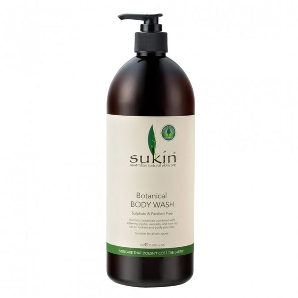 Sukin Botanical Body Wash 1 Litre