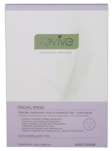 Revive Anti-Aging Facial Mask Sachets 25g X 6