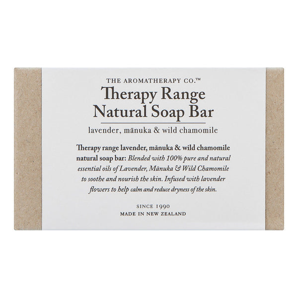 The Aromatherapy Co Therapy Range Natural Soap Bar (Sweet Lime & Mandarin)