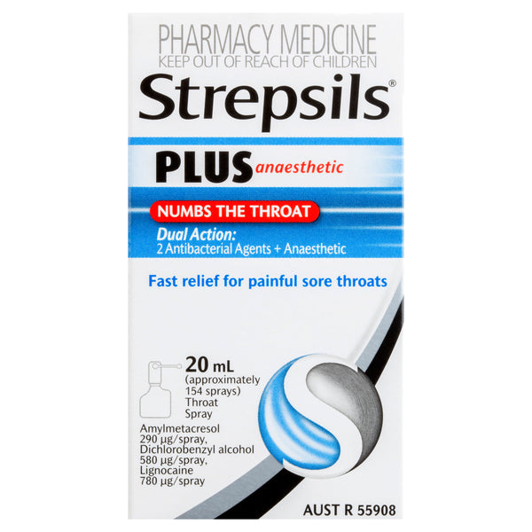 Strepsils Plus Numbs The Throat 20mL