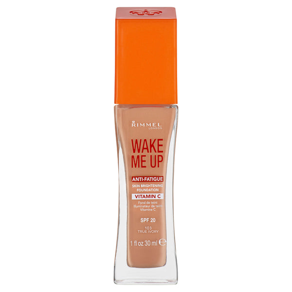 Rimmel London, Wake Me Up Foundation, 103, True Ivory1fl oz 30ml