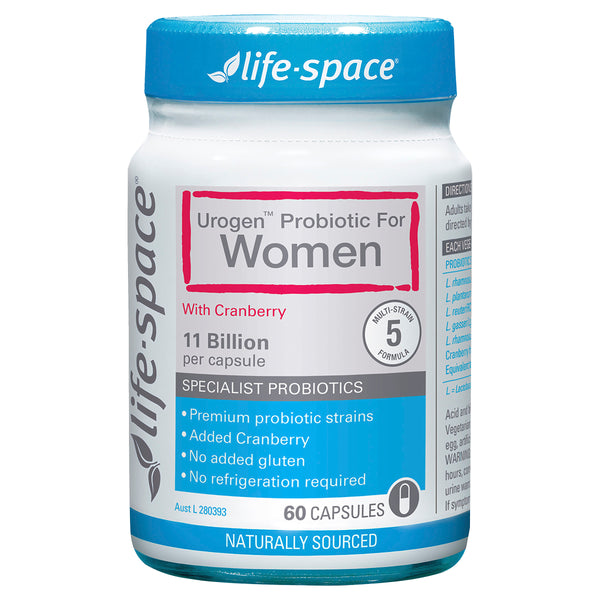 LIFE SPACE UROGEN SHIELD WMN CAP 60