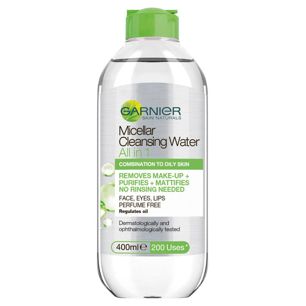 Garnier® SkinActive Micellar Cleansing Water Combination/Oily 400ml